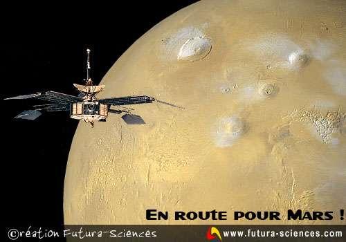 En route pour Mars...