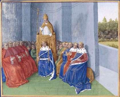 Saint Urbain II prêchant la croisade. © Domaine public