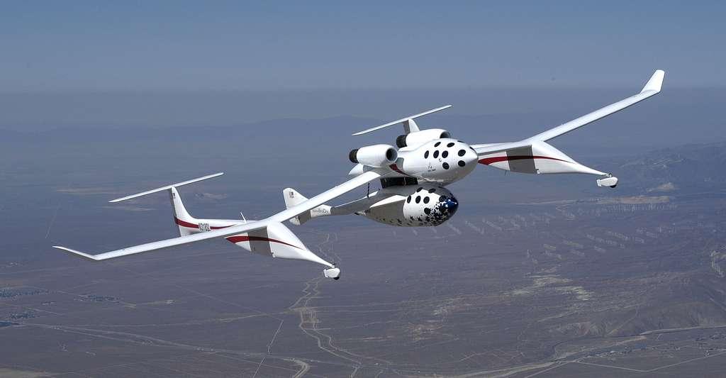 SpaceshipOne. © Scaled Composites