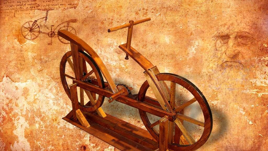 Léonard de Vinci a-t-il inventé la bicyclette ?