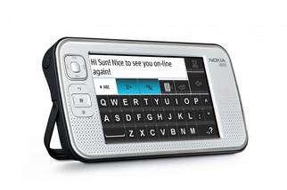 Avec 128 Mo de mémoire, un processeur puissant et un véritable système d'exploitation (Debian), le Nokia N800 peut faire tourner un navigateur (Opera est livré en standard). © Nokia