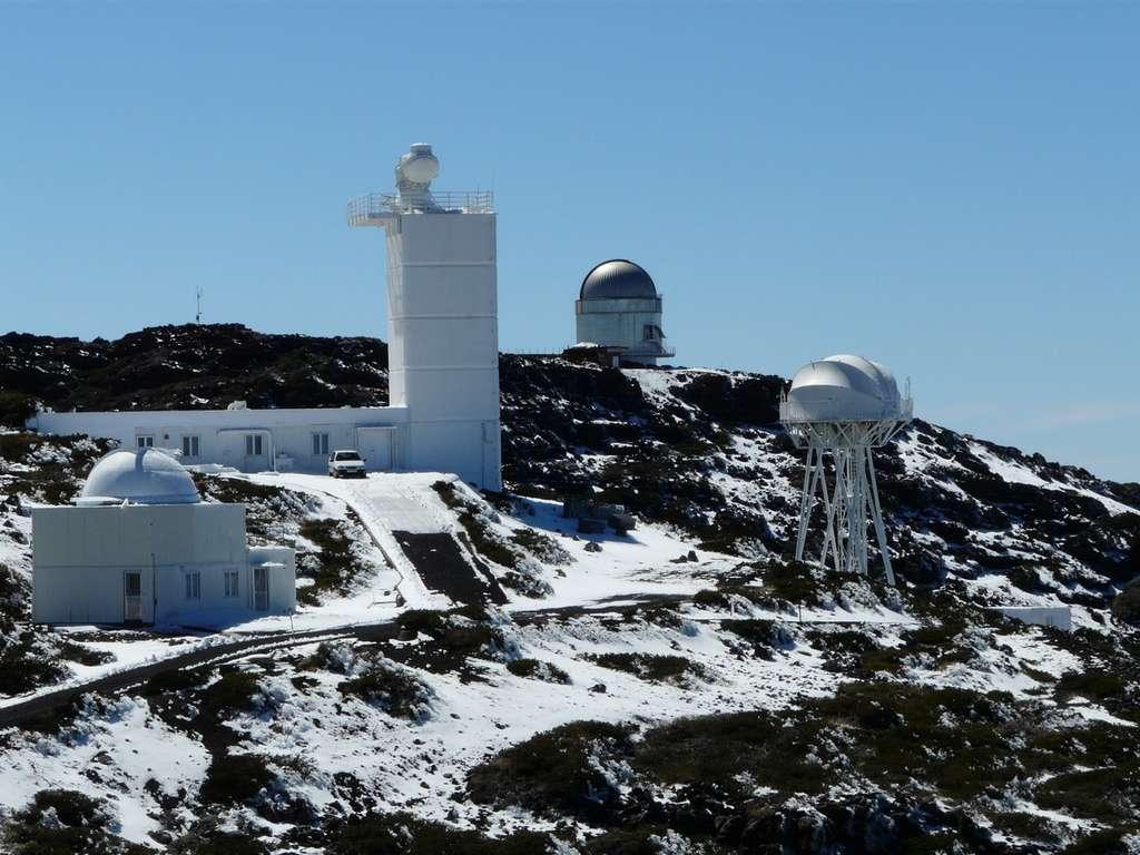 Les autres télescopes de l'observatoire du Roque de los Muchachos