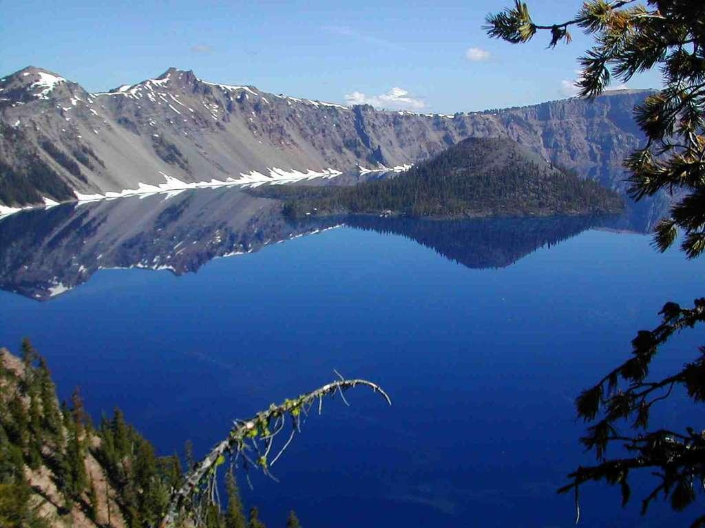 Etats Unis - Oregon : Cratère Lake (2471 m)
