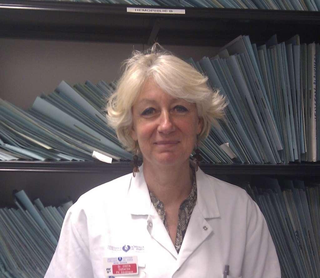 Catherine Costa, docteur en génétique moléculaire à l'hôpital Henri Mondor (à Créteil, en banlieue parisienne) est une spécialiste de l'hémophilie. © DR