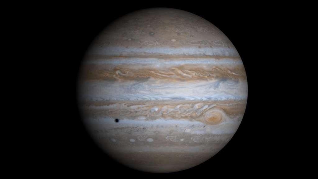 La famille des lunes de Jupiter continue de s'agrandir ! Elles sont désormais 79 dans le giron de la géante. © Nasa