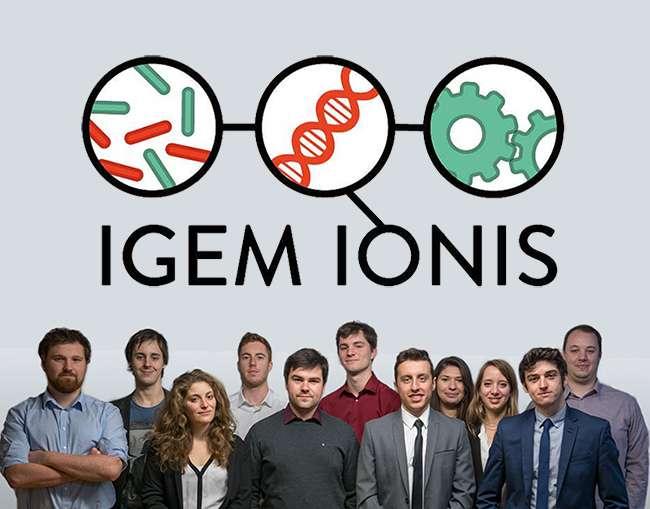 L'équipe des bactéries volantes est prête pour le concours de l'iGEM 2016, cette compétition internationale de machines génétiquement modifiées. © Ionis-STM