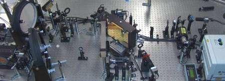 Au cœur du laser pétawatt... © Texas Center for High-Intensity Laser Science
