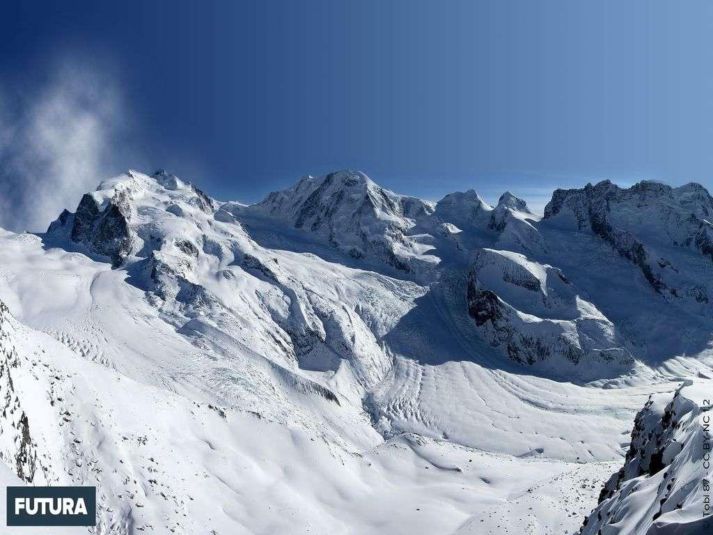 Vue panoramique Gornergrat (3110 m) Zermatt
