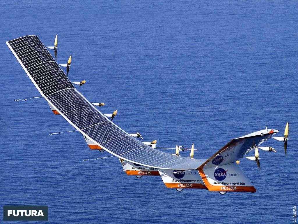 Avion solaire Elios