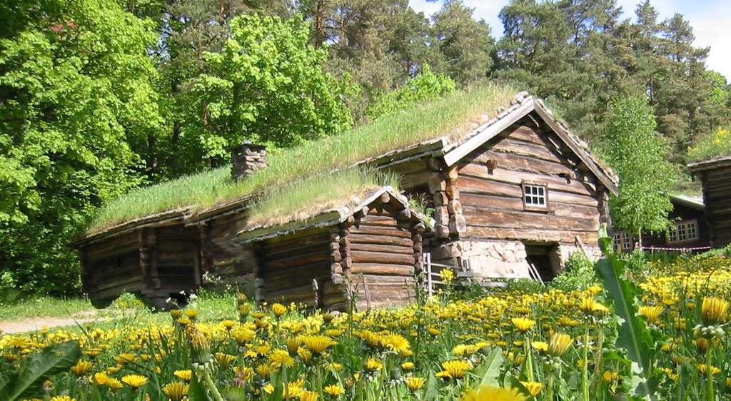 L'habitat traditionnel en Norvège