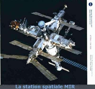 La station Mir a accueilli une expérience sur les acides aminés. © DR