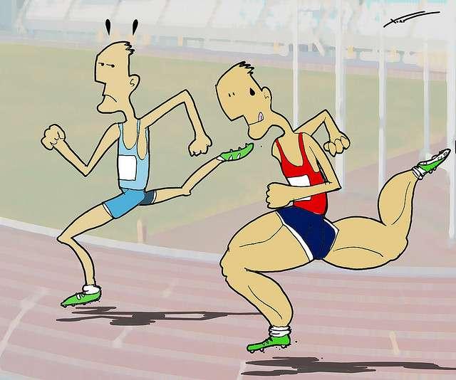 La prise de stupéfiants permet d'augmenter artificiellement les capacités physiques des sportifs. © Xoan Baltar, Flickr, cc by 2.0