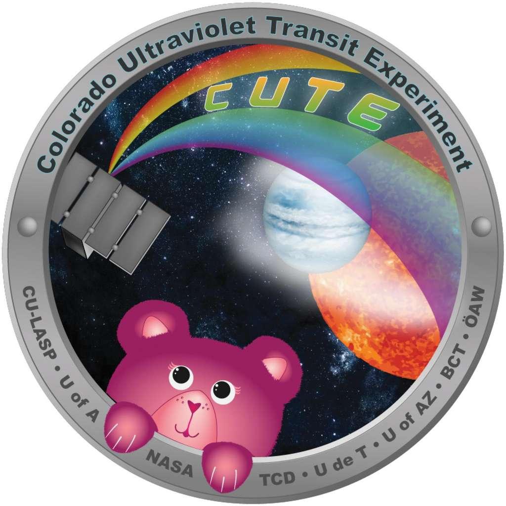 Le logo du petit satellite Cute. © LASP