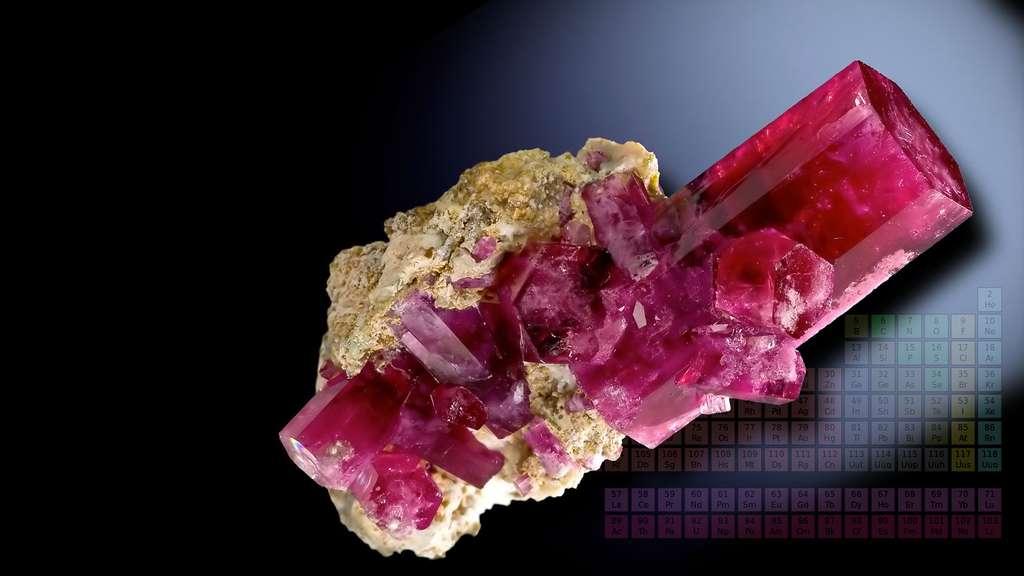 Le béryl, un cristal d'eau de mer