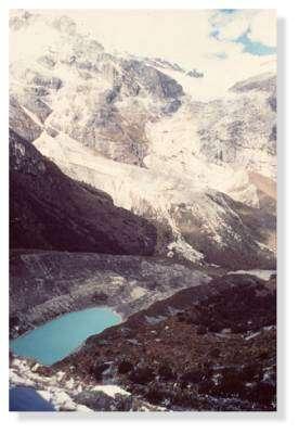 Cordillère Blanche, Laguna Artesonraju (4600 m), Pérou. © IRD/Bernard Pouyaud.