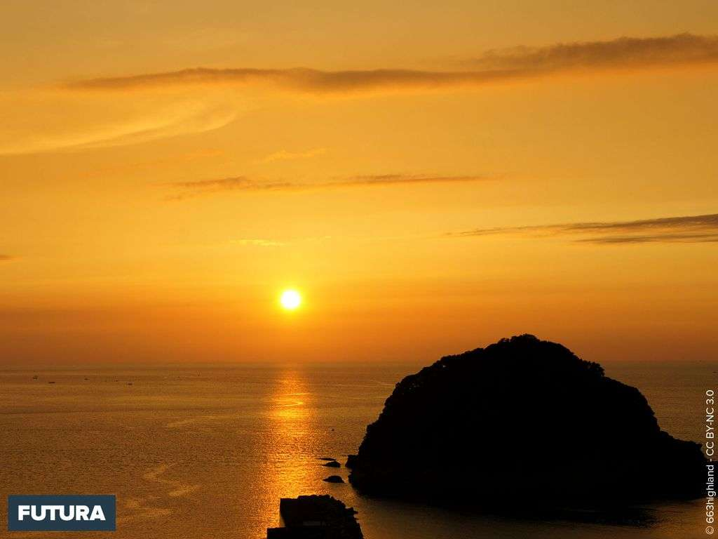 Coucher de soleil Kasumi Coast Japon