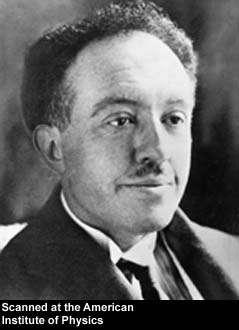 Le prix Nobel Louis de Broglie.
