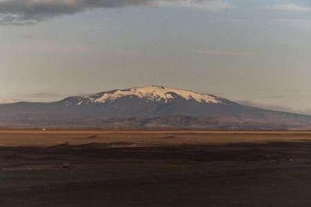 Le volcan Hekla, dans le sud de l'Islande. © Wikipédia
