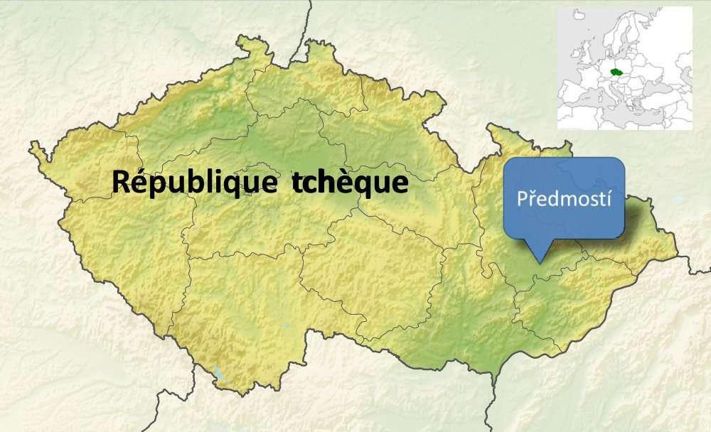 Le site de Předmostí est riche en ossements de la période du Paléolithique supérieur. © Bruno Scala/Futura-Sciences