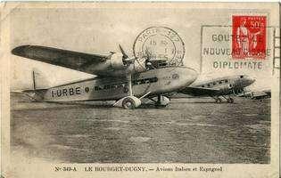 L'aéroport du Bourget en 1935. © Creative Commons