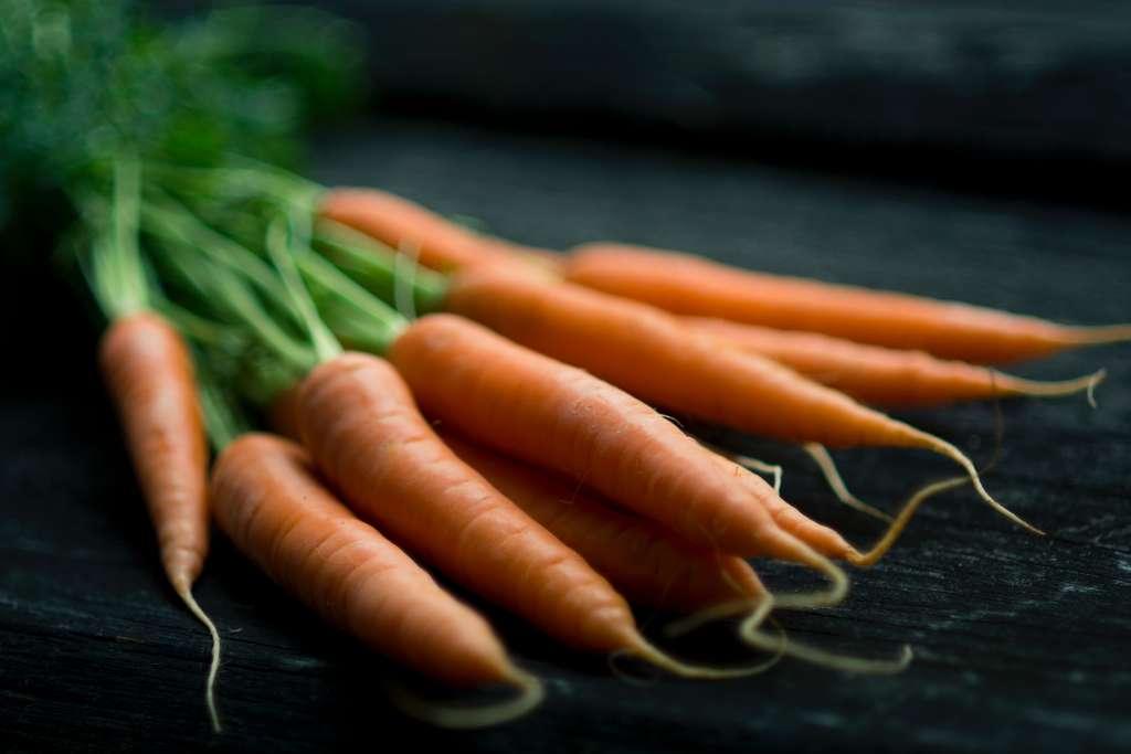 Les carottes nouvelles arrivent dès le mois d'avril. © Jonathan Pielmayer, Unsplash