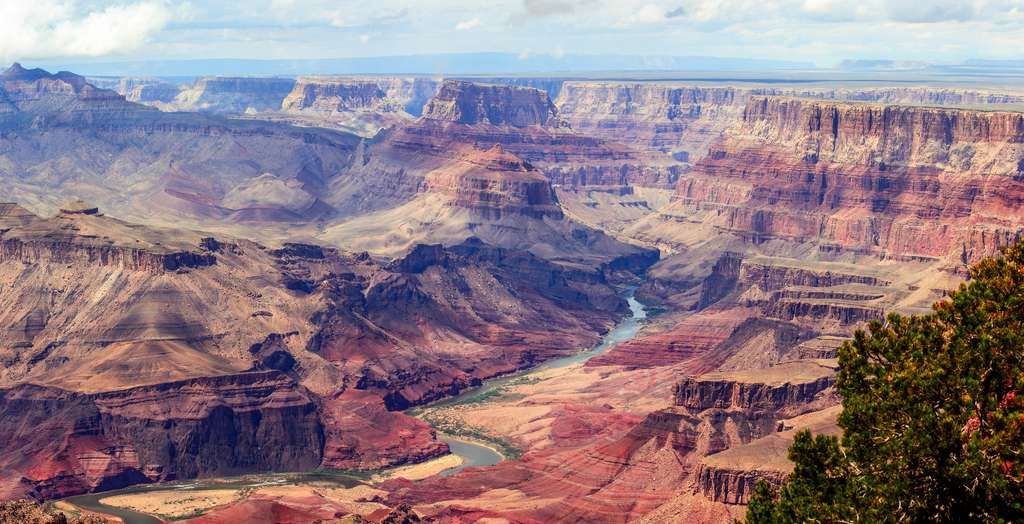 Grand Canyon du Colorado : lire dans les strates terrestres