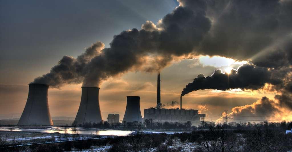 Nos émissions de dioxyde de carbone (CO2) poussent la Terre vers son point de non-retour. © Danicek, Adobe Stock