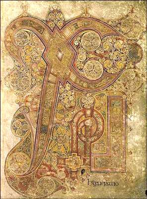 Livre de Kells. © DR