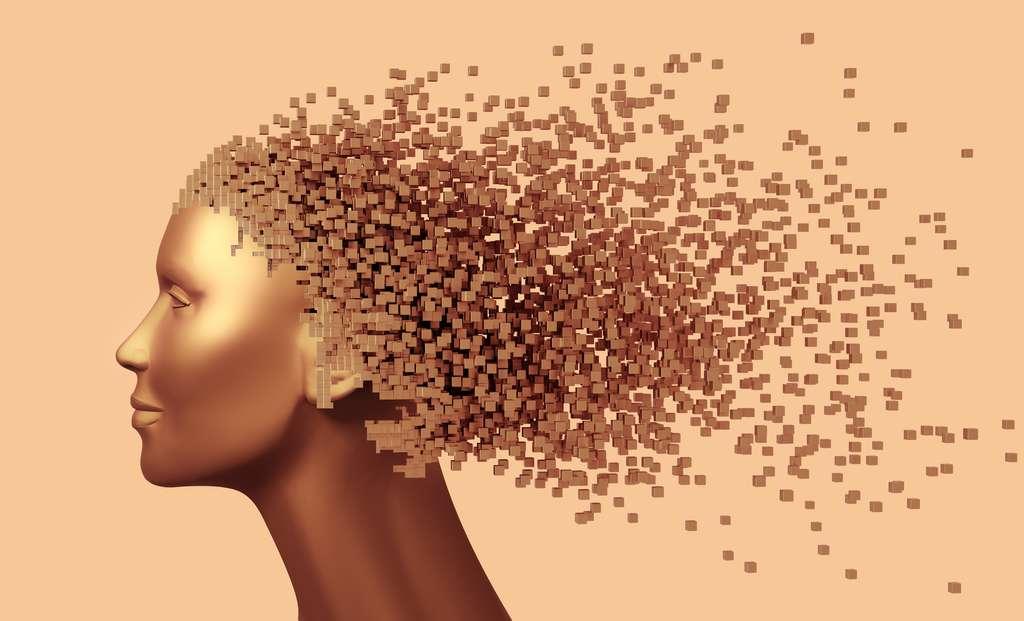 La schizophrénie se caractérise par des hallucinations et une désorganisation de la pensée. © 3dsculptor, Adobe Stock