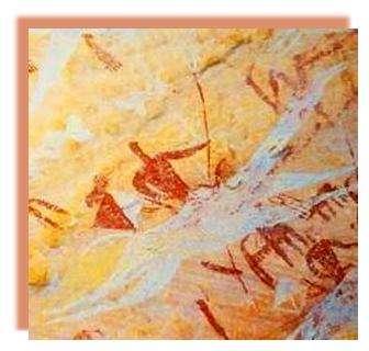 Camélin ancien : style de Gribi avec un sens du mouvement très vif. On peut distinguer l'armement : lance et couteaux de bras