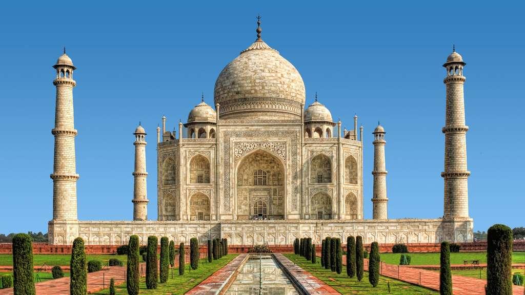 Le Taj Mahal, un somptueux chef d'œuvre construit par amour