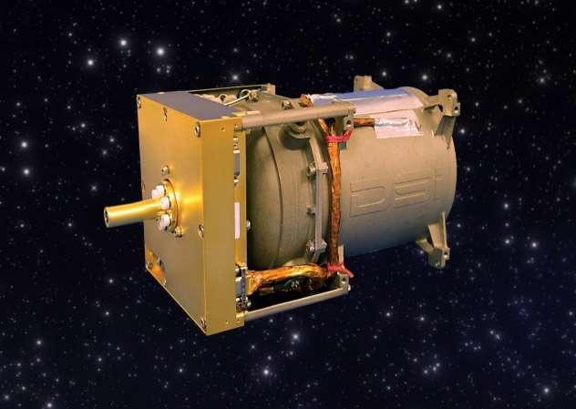 Le système de propulsion Comet dont la principale qualité est d'être de conception simple, ce qui le rend bien adapté aux satellites de très petites tailles (cubesat, nanosat...). © Deep Space Industries