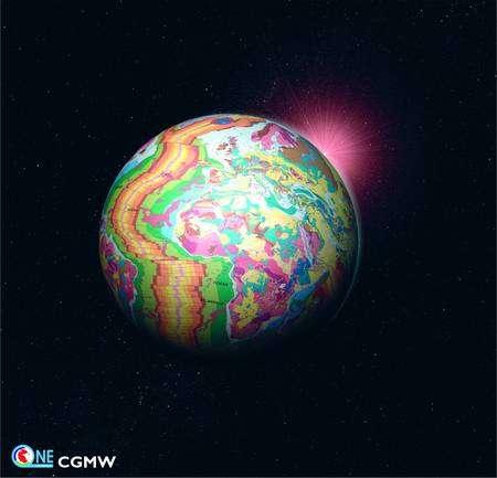 La Terre, pour un géologue... Cliquez pour agrandir. (Capture de OneGeology.)