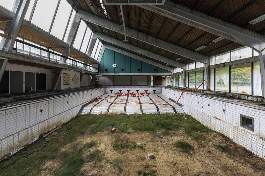 Piscine abandonnée au Danemark. © Jonk, tous droits réservés
