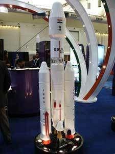 L'ISRO, agence spatiale indienne, affichait sa volonté d'étendre sa gamme de lanceurs vers les charges utiles lourdes. Un petit air d'Ariane V… © Espace Magazine