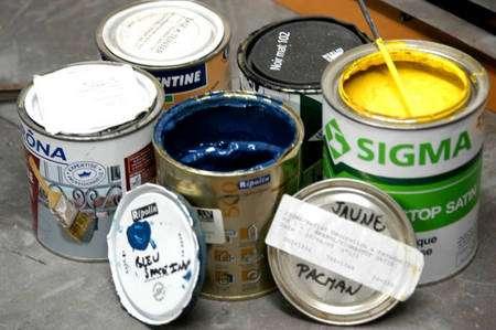 Peinture à l'huile. © DR