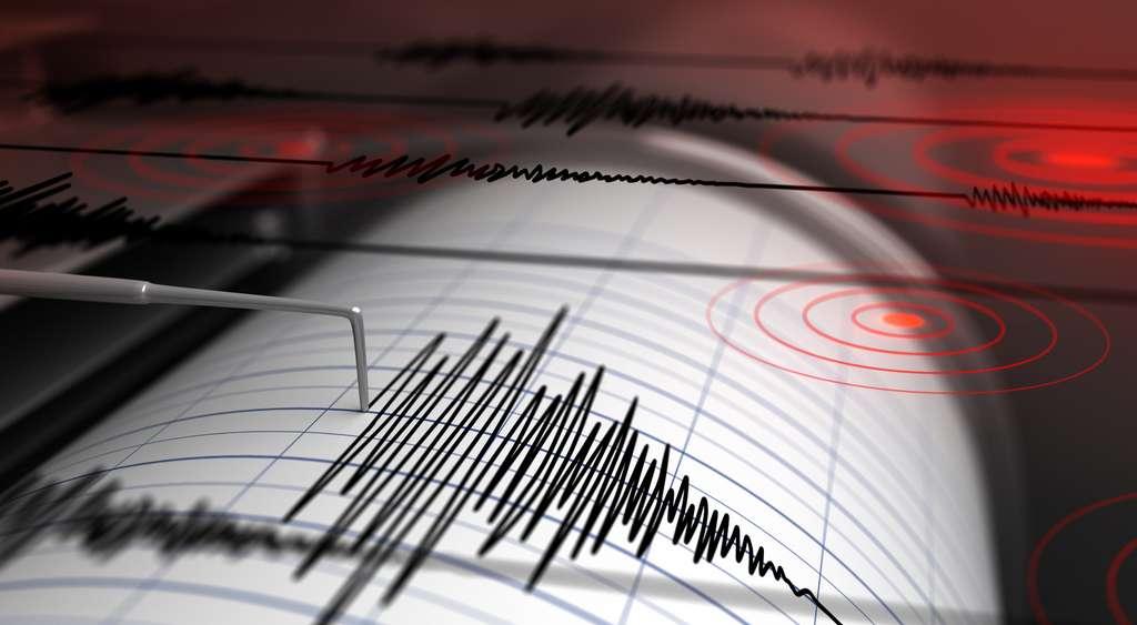 Le sismographe, un appareil de mesure permettant de capter les mouvements du sol. © Petrovich12, Adobe Stock
