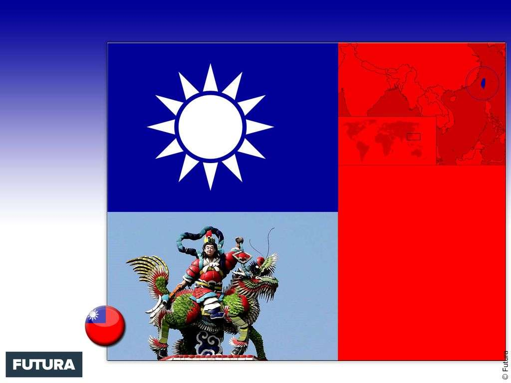 Drapeau : Taïwan