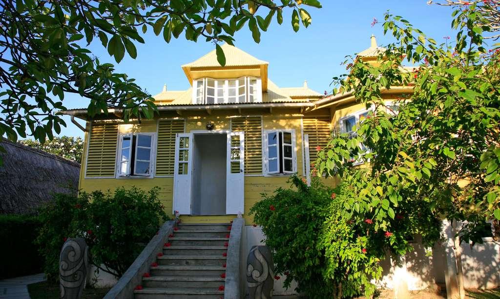 Petit hôtel à La Digue