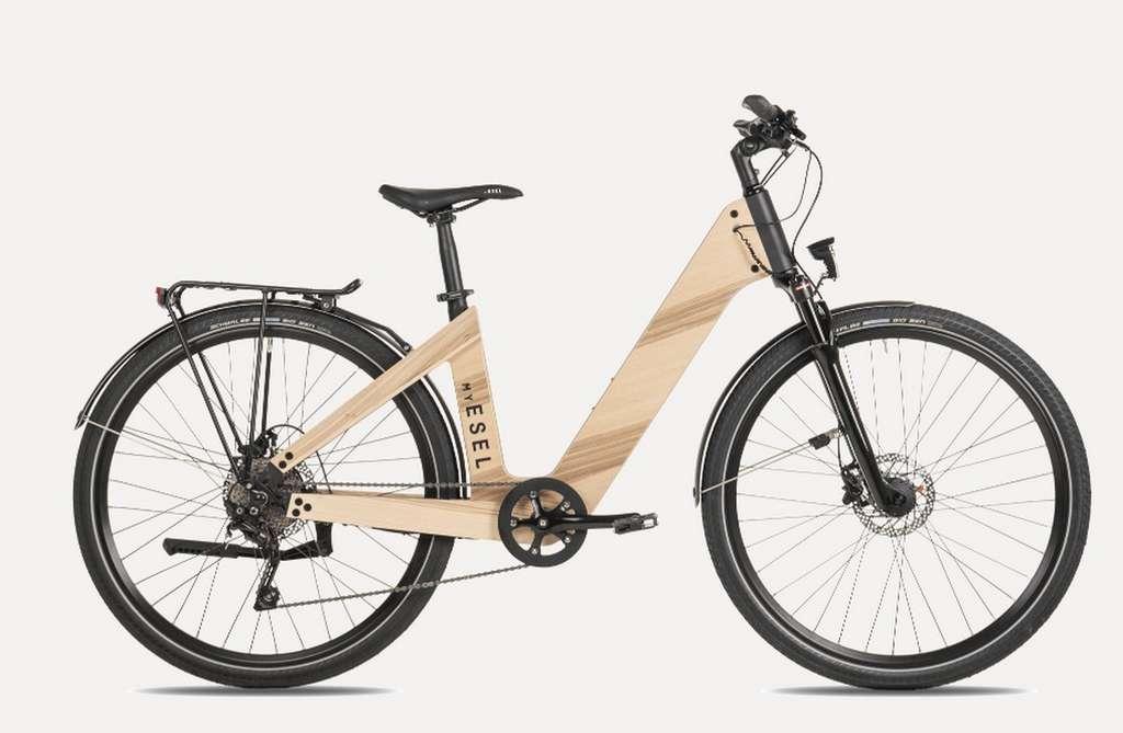 Le vélo électrique urbain E-Elegance de My Esel. © My Esel