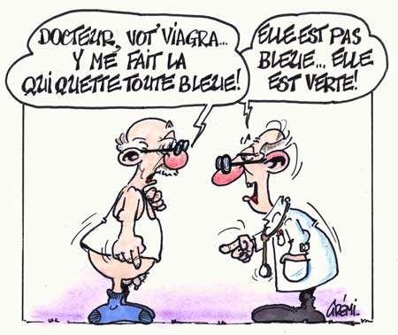 Viagra : fini les troubles de l'érection, bonjour les problèmes de vision ?