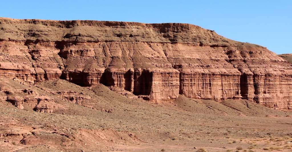 Site de fouilles à la recherche de fossiles. © Piuturismo, DP