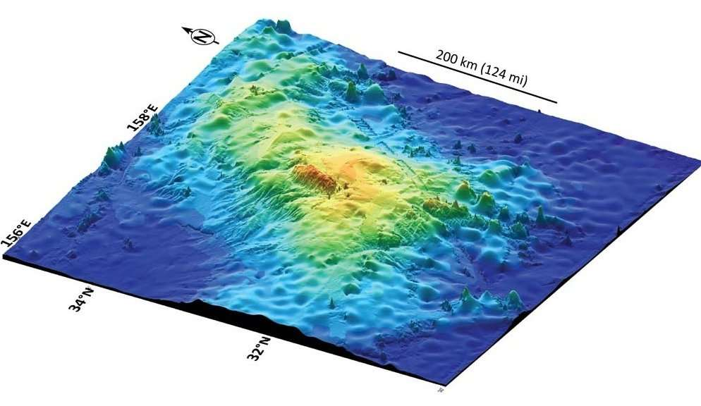 Le plus grand volcan du monde... vient d'être découvert