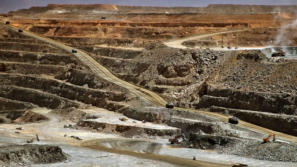 Super Pit ou Fimiston Open Pit, la plus grande mine d'or d'Australie