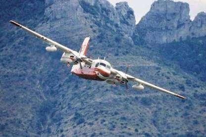 Un tracker en vol. © Tracker-France - Tous droits de reproduction interdits
