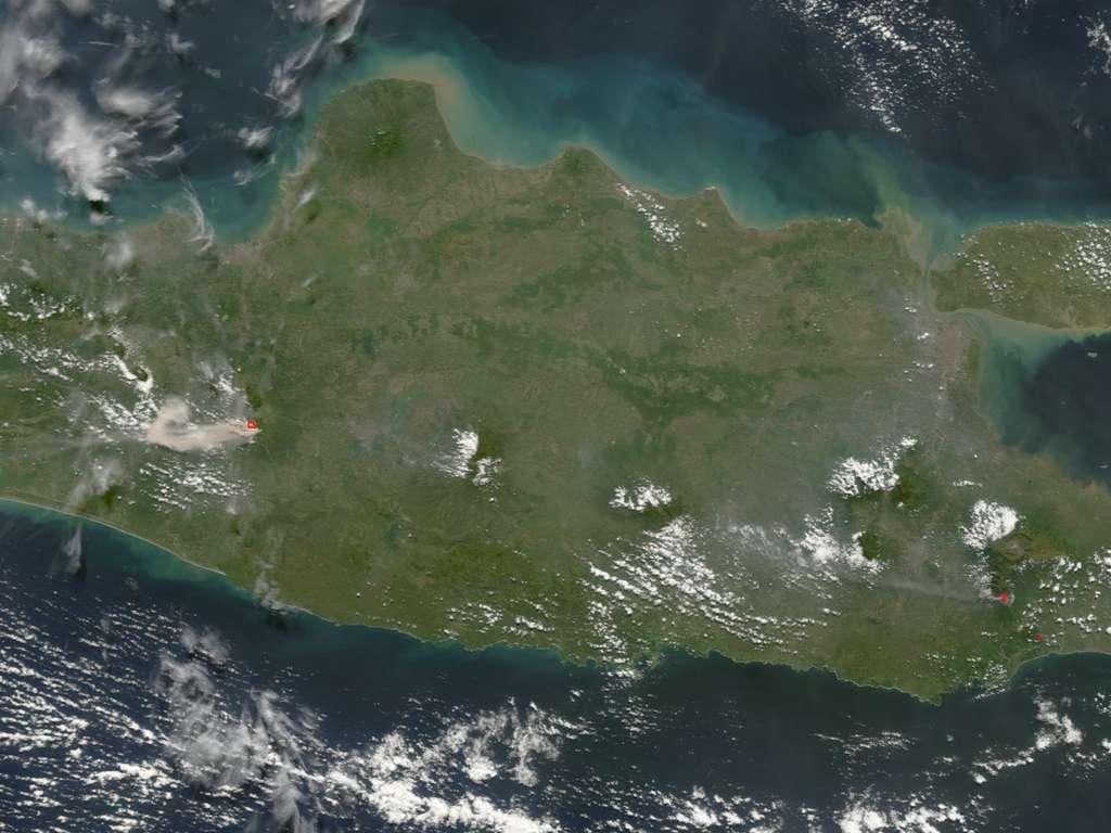 Les Deux volcans de Java