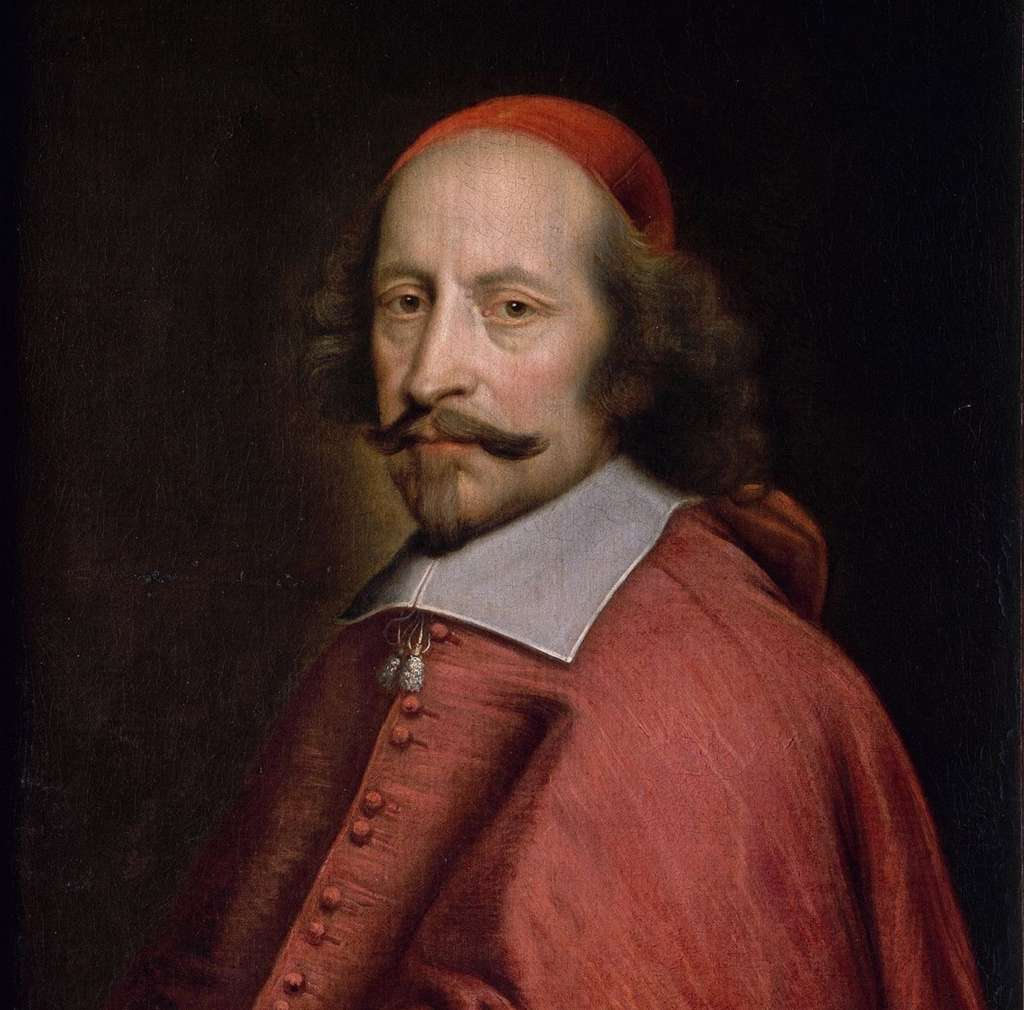 Cardinal Jules Mazarin par Pierre Mignard, avant 1660. Musée Condé, Chantilly. © RMN (Domaine de Chantilly), Harry Bréjat
