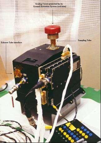 Aerosol Collector and Pyrolyser ACP