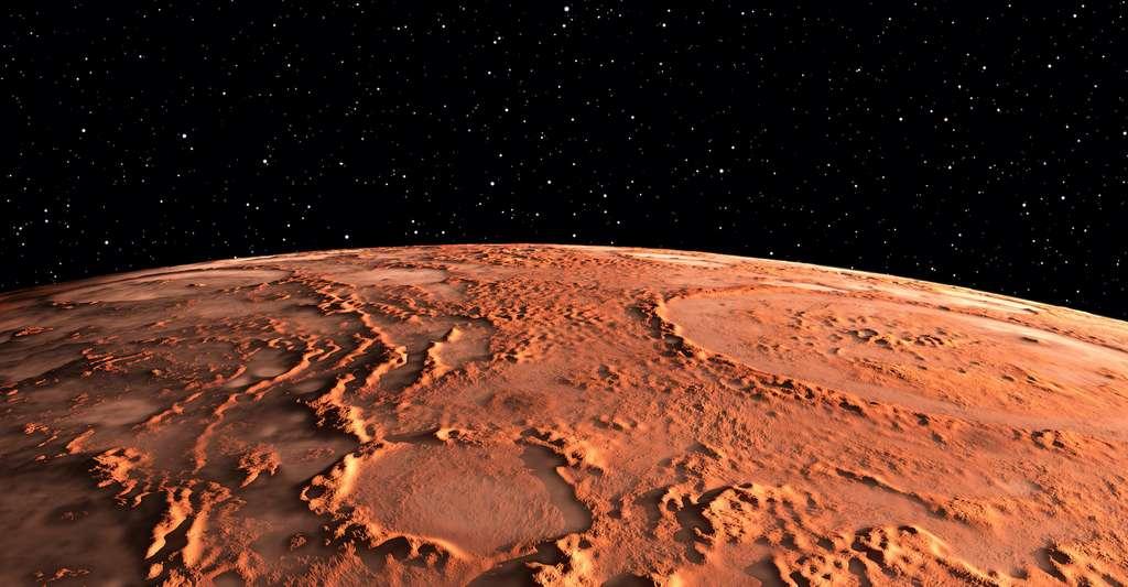 L'oxyde de fer qui donne à la brique sa couleur rouge – comme il donne sa couleur à la planète Mars – est l'un des composants essentiels du processus. © Peter Jurik, Adobe Stock