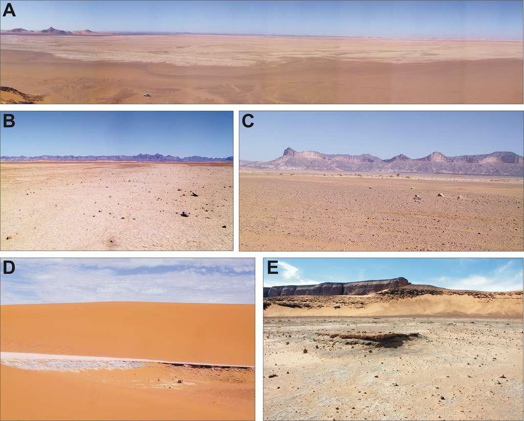 Les vastes étendues désertiques du sud de la Libye étaient autrefois recouvertes de lacs et de rivières. © Wim Van Neer et al, PLoS One, 2020